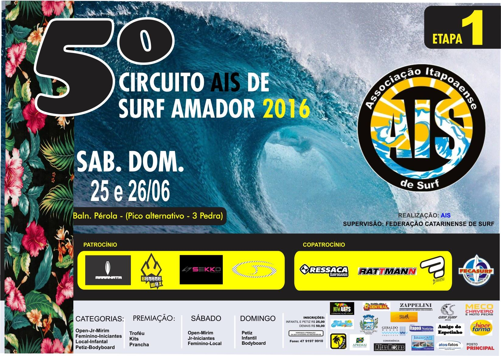 CARTAZ SURF